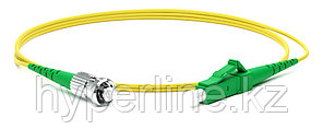 Hyperline FC-S2-9-LC/AR-ST/AR-H-10M-LSZH-YL Патч-корд волоконно-оптический (шнур) SM 9/125 (OS2),