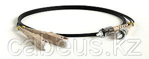 Hyperline FC-D2-62-SC/PR-ST/PR-H-3M-LSZH-BK Патч-корд волоконно-оптический (шнур) MM 62.5/125, ST-SC, 2.0 мм,