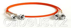 Hyperline FC-D2-62-ST/PR-ST/PR-H-50M-LSZH-OR Патч-корд волоконно-оптический (шнур) MM 62.5/125, ST-ST, 2.0 мм,