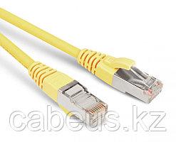 Hyperline PC-LPM-STP-RJ45-RJ45-C5e-15M-YL Патч-корд F/UTP, экранированный, Cat.5е, 15 м, желтый