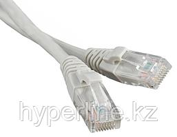 Hyperline PC-LPM-STP-RJ45-REV-RJ45-C5e-10M-LSZH-GY Реверсивный Патч-корд F/UTP, экранированный, Cat.5e, LSZH,