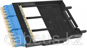 Siemon LS-LC12-01C-BL Ligth Stack Панель LC, 12 волокон, одномод, цвет адаптеров голубой, черная