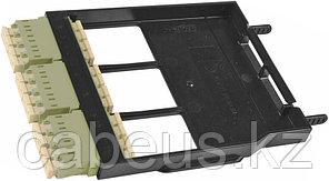 Siemon LS-LC12-01C-BG Ligth Stack Панель LC, 12 волокон, многомод, цвет адаптеров бежевый, черная
