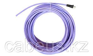 Siemon IC5-8T-15M-B01L Пигтейл UTP, категория 5e, одножильный, RJ45, T568A, LSOH, 15 м, фиолетовый, черные