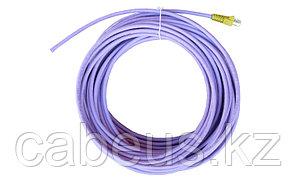 Siemon IC5-8T-15M-B05L Пигтейл UTP, категория 5e, одножильный, RJ45, T568A, LSOH, 15 м, фиолетовый, желтые