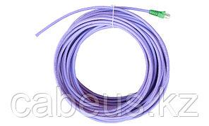 Siemon IC5-8T-10M-B07L Пигтейл UTP, категория 5e, одножильный, RJ45, T568A, LSOH, 10 м, фиолетовый, зеленые