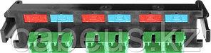 Siemon RIC-F-SCA6-01 Quick-Pack Панель,6 волокон, SC/APC , зеленые адаптеры, цвет черный, керамическая втулка