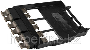 Siemon LS-MP6-01CBK Ligth Stack Панель с 6 MTP адаптерами (цвет черный), 72 волокна, черная