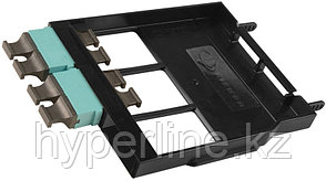 Siemon LS-MP4-01CAQ Ligth Stack Панель с 4 MTP адаптерами (цвет аква), 48 волокон, черная