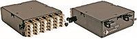 Siemon PPM-24-LC5L01B1 Оптический модуль Plug&play 24xLC c 2-мя MTP портами ,OM3,50-125, XGLO-MМ, черный (метод B,сторона А) в шкафы FCP3-DWR-4