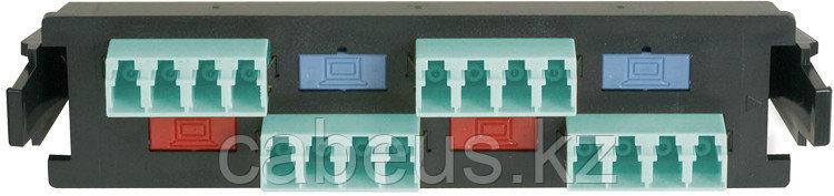 Siemon RIC-F-LCQ16-01C Quick-Pack Панель с 6 LC duplex адаптерами, 16 волокон, многомод, цвет адаптеров аква (для RIC3, SWIC3, FCP3)