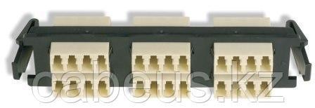 Siemon RIC-F-LC24-01C Quick-Pack Панель с 6 LC quadro адаптерами, 24 волокна, многомод, цвет адаптеров бежевый (для RIC3, SWIC3, FCP3)