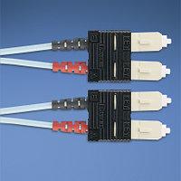 PANDUIT FXD3-3M3Y Многомодовый дуплексный патч-корд SC-SC 50/125 (ОМ3), 10Gb, OFNR, 3м.