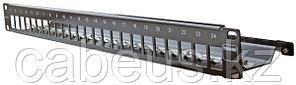 """Siemon TM-PNLZ-24-01 Патч-панель TERA-MAX на 24 модуля, 19"""", 1U, чёрная (в комплекте маркировочные этикетки,"""