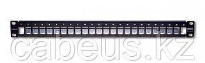 """Siemon ZS-PNL-24E Z-MAX Модульная патч-панель 19"""", 24 порта, экранированная, 1U, черная, без модулей (в"""