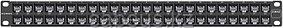 Siemon Z6A-PNL-U48K Патч-панель ZMAX UTP кат. 6А, 48 портов с модулями, 1U, черная