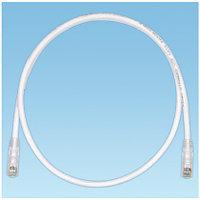 PANDUIT UTPSP2MY Патч-корд TX6 PLUS UTP, Cat.6, с модульными разъёмами TX6™ PLUS на обоих концах, 2 м, белый
