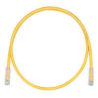 PANDUIT UTPSP2.5MYLY Патч-корд TX6 PLUS UTP, Cat.6, с модульными разъёмами TX6™ PLUS на обоих концах, 2.5 м, желтый
