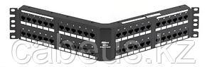 PANDUIT DPA485E88TGY Патч-панель угловая DP5e 110, категория 5e, 48 портов, Т568A/B, 2U