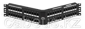 PANDUIT DPA486X88TGY Патч-панель угловая DP6 10Гбит, категория 6А, 48 портов RJ45 (8P8C)