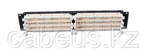 """Siemon S110DB1-200RFT 19"""" 200-парная кросс-панель, тип 110, с 4-парными модулями, 2U"""