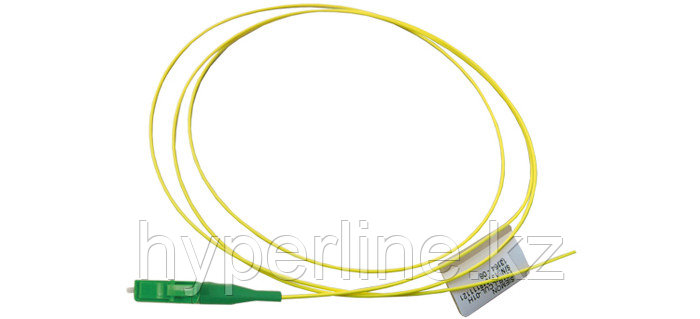 Siemon FP1B-LCAL-01H Пигтейл волоконно-оптический XGLO APC, SM (OS2), LC/APC, simplex, LSOH (IEC 60332-3C), 1