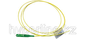 Siemon FP1B-LCUL-02H Пигтейл волоконно-оптический XGLO, SM (OS2), LC/UPC, simplex, LSOH (IEC 60332-3C), 2 м, желтый
