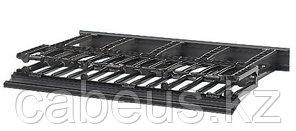 """PANDUIT NM1 Двухсторонний горизонтальный кабельный организатор с крышками, 19"""", 1U, 44 x 482 x 332 мм"""
