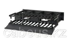 """PANDUIT NM2 Двухсторонний горизонтальный кабельный организатор с крышками, 19"""", 2U, 88 x 482 x 332 мм"""
