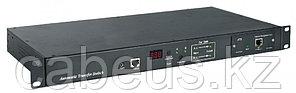 """Hyperline ATS-R-128H0812 Блок розеток управляемый ATS 19"""", горизонтальный, 1U, 6 розеток IEC320 C13, 2 розетки"""
