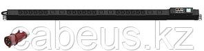 Hyperline IP-PDU-S-061H2453-6xC19 Блок розеток управляемый IP-PDU вертикальный, трехфазный 3x32А, 3 блока по