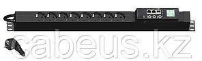 Hyperline IP-PDU-S-061D0816 Блок розеток управляемый IP-PDU, вертикальный, 8 розеток DIN49440 (16А), 250VAC,