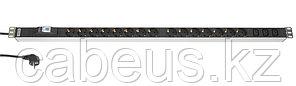 Hyperline SHT-15SH-3IEC-B-2.5EU Блок розеток, 15 розеток + 3 х IEC320 C13, 16 A, автомат, шнур 2.5м (1024 x
