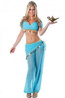 Костюм для арабских танцев  - Голубой