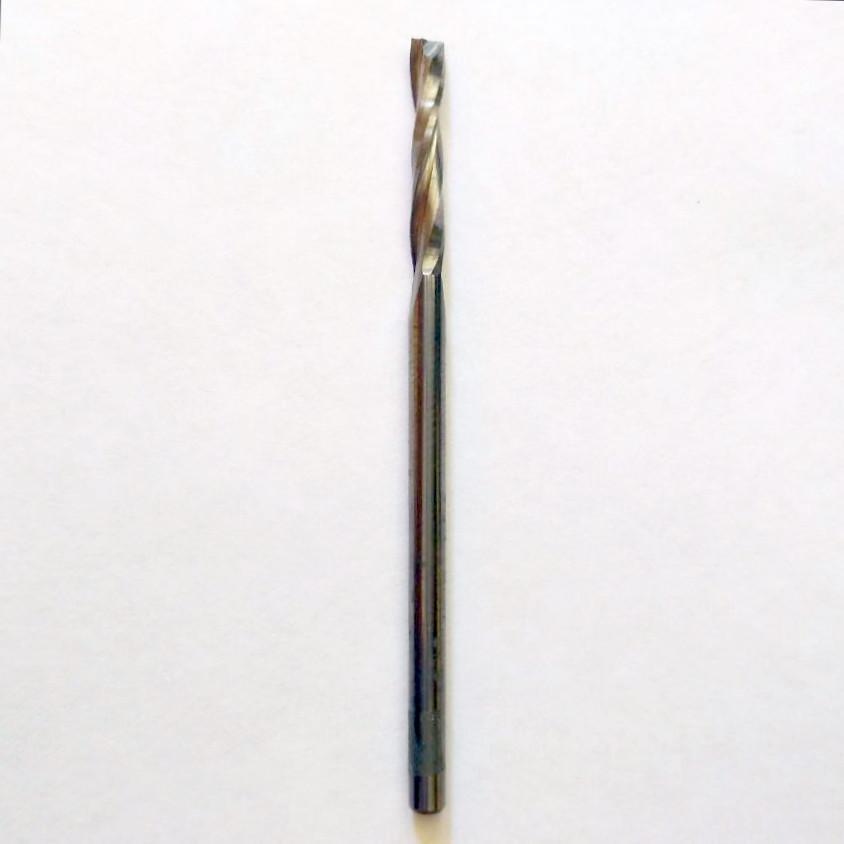 Фреза спиральная чистовая 3х18х60 Z2 RH
