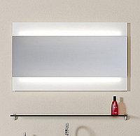 Зеркало Aqwella Bergamo 100 с подсветкой (Ber.02.10)