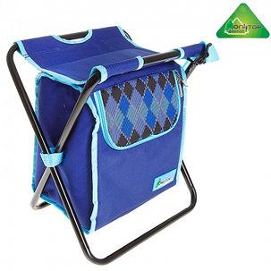 Сумка-холодильник со стульчиком Premium 6, цвет синий, фото 2
