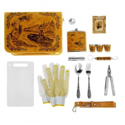 "Набор в сумке ""Рыбак в лодке"" на 3 персоны (18 предметов), фото 2"