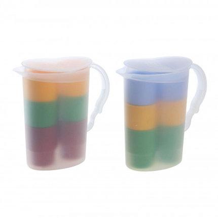"""Набор """"Шесть стаканов в кувшине"""", цвет МИКС, фото 2"""