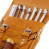 """Набор для шашлыка """"Записки охотника.Тигр"""" (6 шампуров, нож) 69,5Х20,5Х3,5 см, фото 5"""