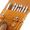 """Набор для шашлыка """"Глухарь"""" (6 шампуров, нож) 69,5Х20,5Х3,5 см, фото 5"""