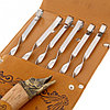 """Набор для шашлыка """"Щука"""" (6 шампуров,мангал, нож) 58Х20Х3,5 см, фото 5"""