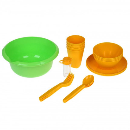 Набор для пикника Picnic mini, цвет солнечный, фото 2