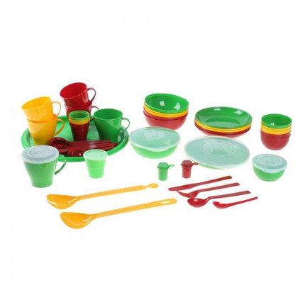 """Набор посуды """"Приятного отдыха"""" в футляре-сумке на 6 персон, фото 2"""