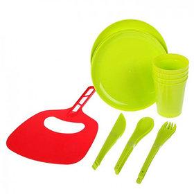 Мини-набор для пикника и барбекю на 4 персоны  + подарок