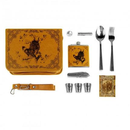 """Набор в сумке """"Глухарь"""" на 3 персоны (16 предметов), фото 2"""