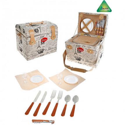 Корзина-холодильник для пикника Violai на 2 персоны, фото 2