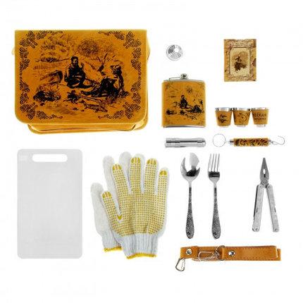 "Набор в сумке ""Рыбаки на привале"" на 3 персоны (18 предметов), фото 2"