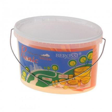 Набор для пикника Picniс, 39 предметов, цвет мандарин, фото 2