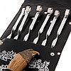 "Набор для шашлыка ""Орел"" (6 шампуров,мангал, нож) 58Х20Х3,5 см, фото 5"